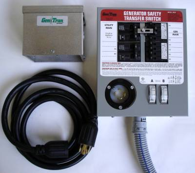 Installing a reliance controls pro/tran 6-circuit 30 amp generator.