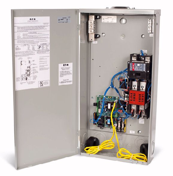 Eaton Manual Transfer Switch Wiring Diagram : Eaton transfer switch wiring diagram